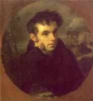 Орест Адамович Кипренский. Портрет Василия Андреевича Жуковского