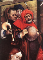 Робер Кампен. Рождение Христа. Фрагмент