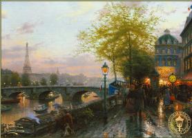 Thomas Kincaid. Paris. Eiffel tower