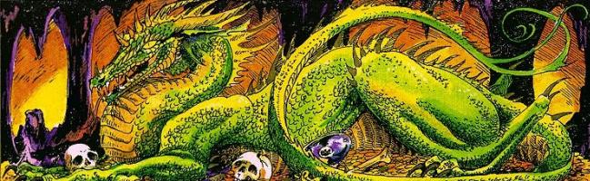 Зеленый динозавр
