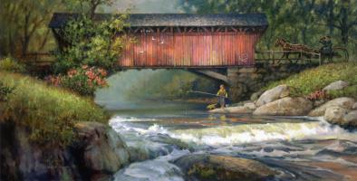 Пол Ландри. Река