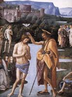 Пьетро Перуджино. Крещение Христа. Фрагмент1