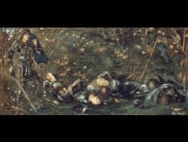 Эдвард Коли Бёрн-Джонс. Шиповник розы шиповник древесины