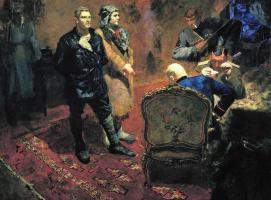 Boris Vladimirovich Ioganson. Interrogation of the Communists