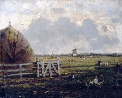 Alexey Petrovich Bogolyubov. Rural view near The Hague