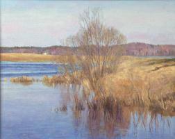 Олег Борисович Захаров. Easy minimalism of April.