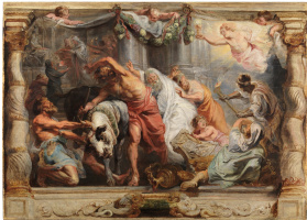 Peter Paul Rubens. The Triumph of the Eucharist over Idolatry