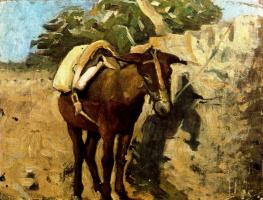 Пабло Пикассо. Конь