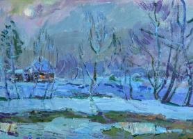 Николай Петрович Глущенко. Зима