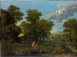 "Nicola Poussin. Spring from the ""seasons"""