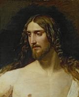 Александр Андреевич Иванов. Голова Христа. 1834
