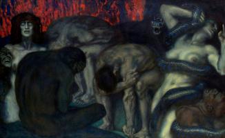 Franz von Stuck. Inferno. 1908