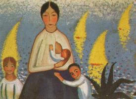 Сальвадор Дали. Материнство