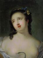 Иван Петрович Аргунов. Умирающая Клеопатра. 1750