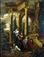 Балтазар ван ден Босхе. У скульптора