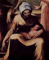 Доменико Беккафуми. Рождение Марии (фрагмент)