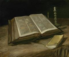Винсент Ван Гог. Натюрморт с Библией