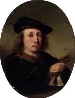 Фердинанд Балтасарс Боль. Портрет мужчины с перчатками