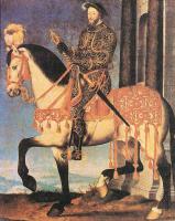 Франсуа Клуэ. Портрет Франциска I король Франции
