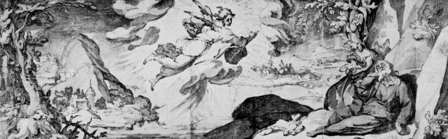 Спящий у потока Хорафа пророк Илия