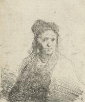Ян Ливенс. Портрет пожилой женщины в меховой шапке