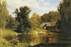 Василий Дмитриевич Поленов. Пруд в Абрамцеве