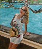 Lyudmila Nikolaevna Yevtushenko. Holiday in Thailand