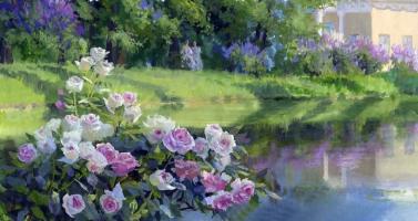Vladimir Yuryevich Zhdanov. Roses