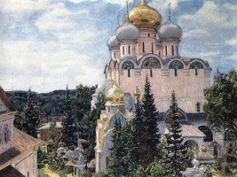 Аполлинарий Михайлович Васнецов. Новодевичий монастырь