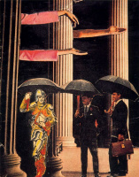 Ампаро Сегарра. Черные зонты