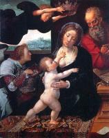 Баренд ван Орли. Дева с младенцем