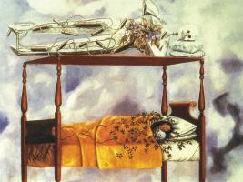 Фрида Кало. Сон (Кровать)