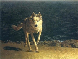 Джейми Уайет. Wolf Dog