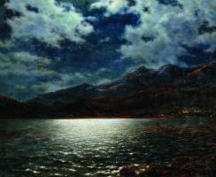 Ницца в лунную ночь