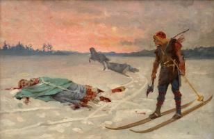 Death of Bishop Henrik.