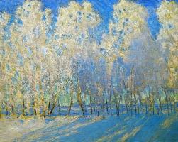 Igor Nobel Grabar. Luxury frost