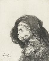 Ян Ливенс. Старуха в плаще