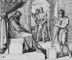 Юлиус Шнорр фон Карольсфельд. Давид перед Саулом