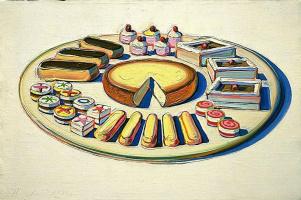 Wayne Thibaut. French cake