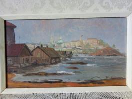 Анатолий Константинович Капранов. Волга. Цыганский поселок.