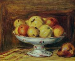 Пьер Огюст Ренуар. Натюрморт с яблоками