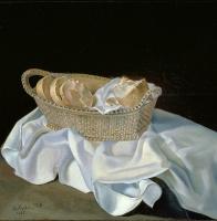 Salvador Dali 1904 - 1989 Spain. A basket of bread. 1926