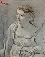 Пабло Пикассо. Женщина в белом