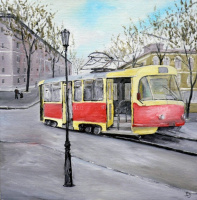 Сергей Николаевич Ходоренко-Затонский. The last tram