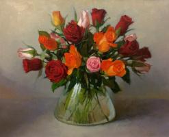 Sergey Alekseevich Makarov. Roses...