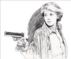 Крис Фосс. Женщина с пистолетом