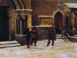 Валерий Иванович Якоби. Три мушкетера. 1867