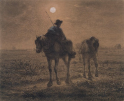 Jean-François Millet. After day work