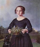 Луи Фердинанд фон Райски. Портрет девушки