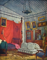 Эжен Делакруа. Спальня графа де Морне